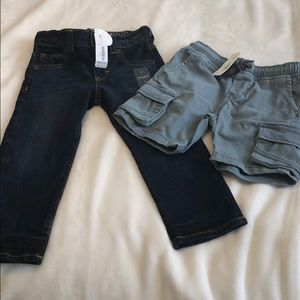 Gymboree Boys Jeans and cargo shorts